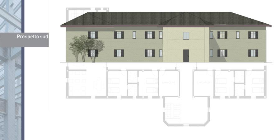 Progetto strutturale albania casa di riposo studio pertici